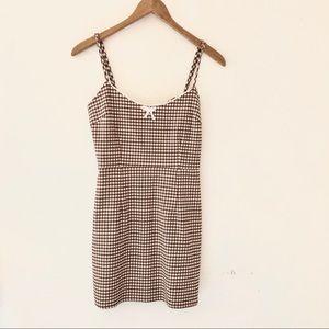 Urban Outfitters Plaid Mini Dress